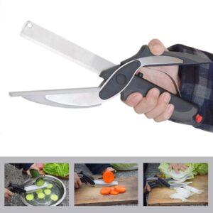 Kuchyňské nůžky 2 v 1 Clever Cutter Domácnost a zahrada