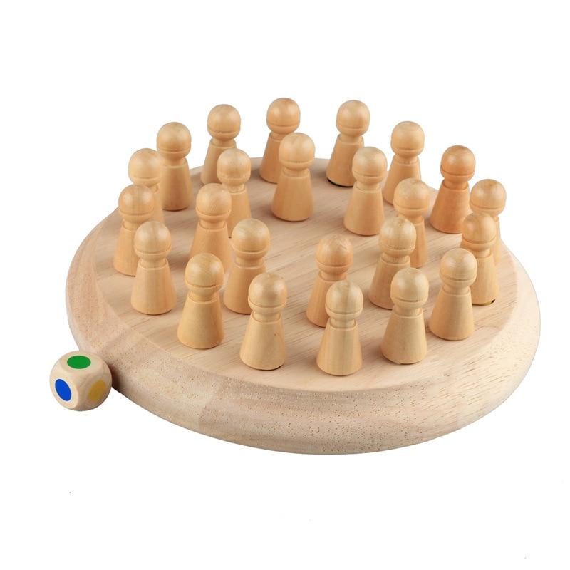 Dřevěné paměťové šachy DĚTÍ 3
