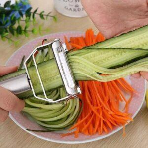 Nerezová škrabka na zeleninu Domácnost a zahrada