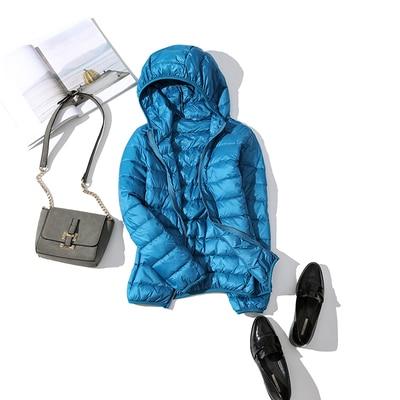 Ultralehká dámská péřová bunda ŽENY 27