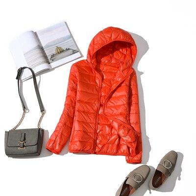 Ultralehká dámská péřová bunda ŽENY 13