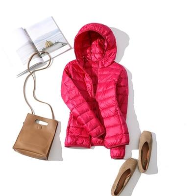 Ultralehká dámská péřová bunda ŽENY 34