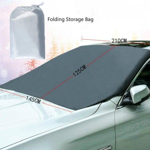 Magnetická clona na auto proti mrazu a slunci AUTO/MOTO