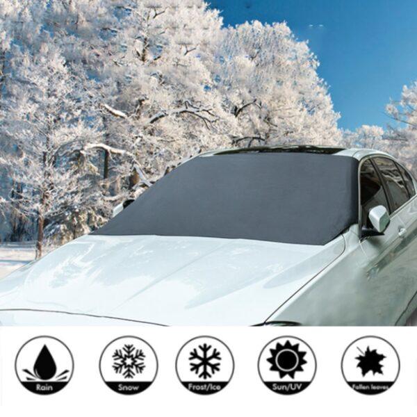 Magnetická clona na auto proti mrazu a slunci AUTO/MOTO 2