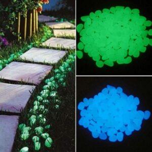 50 KS Svítící kameny – barevné. Poštovné ZDARMA! Domácnost a zahrada