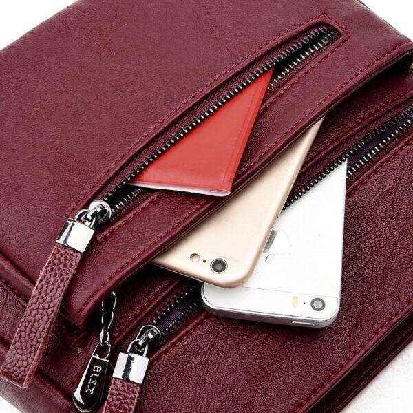 Dámská kožená kabelka  BLSX Kabelky 3