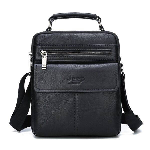 Elegantní pánská taška přes rameno Jeep + Peneženká Kabelky 8
