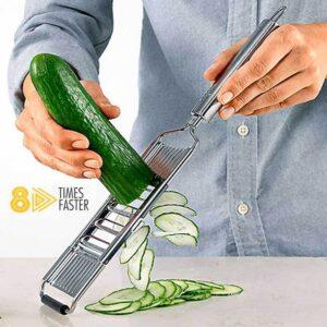 MultiSlicer, víceúčelový kráječ na zeleninu s  4 různými čepelemi Domácnost a zahrada