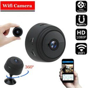 Bezdrátová wifi kamera SENSORI s nočním viděním Elektronika