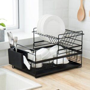 Organizér / Odkapávač  na nádobí Domácnost a zahrada