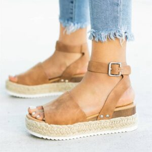 Dámské sandály na platformě VRLVCY ŽENY