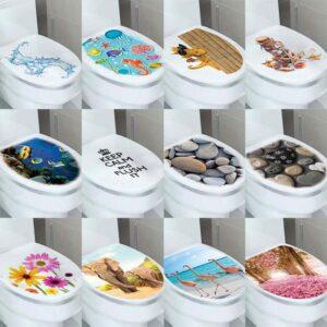 Nálepka na toaletu 3D Domácnost a zahrada
