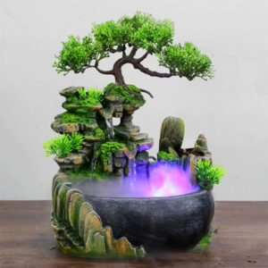 Feng Shui fontána Bonsai Domácnost a zahrada