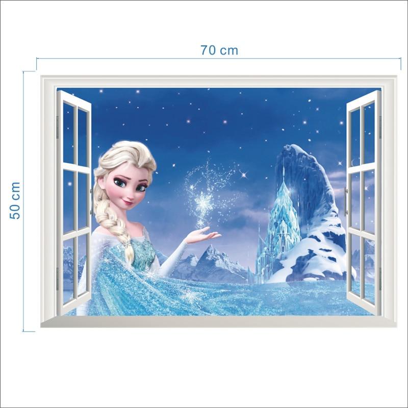 Samolepka na zeď Frozen