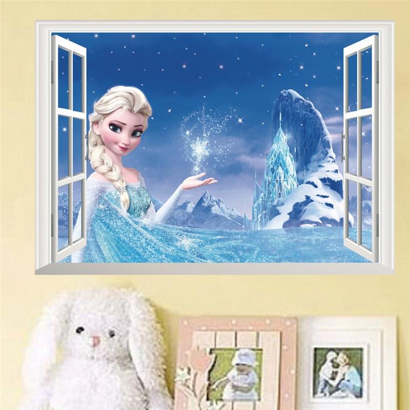 Samolepka na zeď Frozen Domácnost a zahrada 3