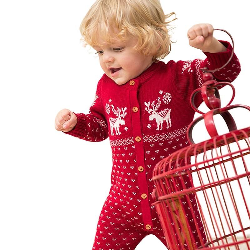 Vánoční teplé dupačky pro děti DĚTÍ 4