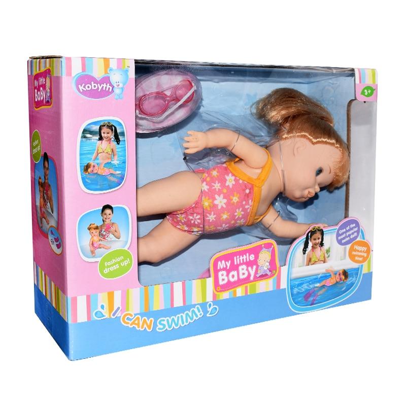 Voděodolná panenka na plavání BUDDYSWIM DĚTÍ 8