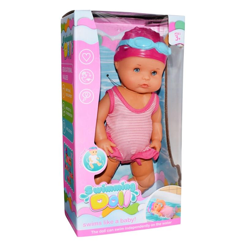 Voděodolná panenka na plavání BUDDYSWIM DĚTÍ 6